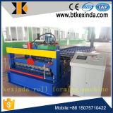 Kxd C18 Rússia populares máquina de formação de rolos de folhas de coberturas metálicas