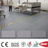 企業公園1.2tのための耐久力のある無毒なPVC商業フロアーリングのビニールの床