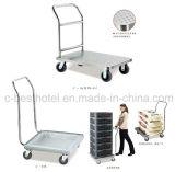 Тележка багажа гостиницы, вагонетка багажа, Birdcage консьержа мебели гостиницы