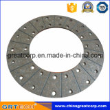 Embrague de alta calidad Revestimiento con metal Placa de apoyo