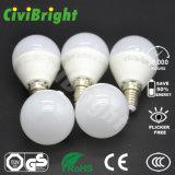 G45 E14 5W LED enciende el bulbo global de SMD 2835