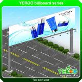 Structure d'affichage extérieur en acier Matériel de publicité Billboard
