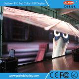 Schermo esterno di colore completo del passo P10mm LED di HD grande per la prestazione della fase
