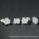 Soporte de cerámica monocristalino de ortodoncia con CE