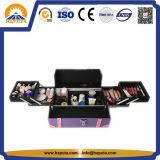 6つの皿(HB-6359)が付いている紫色の優雅な様式の美の箱