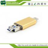 Capacidade real Stick USB 3.0 Tipo C com preço de fábrica