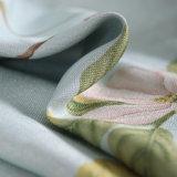 Tissu estampé de rideau en arrêt total de rideau en guichet de type de pays (01F0004)