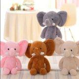 Muñeca suave rellena elefante lindo de la felpa