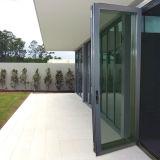 Usine Pnoc Norme australienne porte coulissante en aluminium