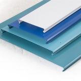 Qualitäts-Metalllineare C-Geformte Streifen-Decke mit buntem Entwurf