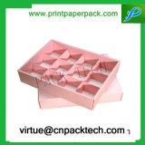 創造的なギフト用の箱習慣によって印刷されるペーパーチョコレートふたおよびベースボックス