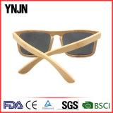 Lunettes de soleil en bambou polarisées à la main et à la main Ynjn Hand Polished