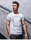 Blanc T-shirt d'impression occasionnels fabriqués en Chine