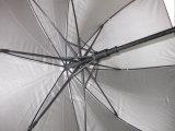 27inch 8パネルの自動開いたガラス繊維のゴルフ傘(GU001)