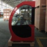 Handelssupermarkt-Bildschirmanzeige-Kuchen-Kühlraum mit gebogenem Glas (G760A-W)