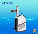 Bewegliches automatisches Fließband Laser-Fliegen-Markierungs-Maschine für Plastik