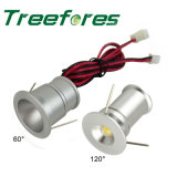 1W 12V 24V Mini-LED Downlight Birnen-Licht der Scheinwerfer-Lampen-LED