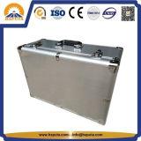 Silberner Berufuav-Kasten-Aluminiumwerkzeugkasten-Speicher-Koffer (HT-3026)