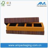 Boîte de papier articulée par qualité de luxe à chocolat
