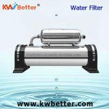 Esterilización del acero inoxidable del filtro de agua de la ultrafiltración peculiar para 1000L/H casero