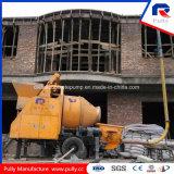 Pompe de mélangeur concret de remorque d'approvisionnement d'usine de qualité