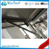 Tableau de travail mobile de tube de grand dos d'acier inoxydable avec la patte réglable de hauteur pour le transport