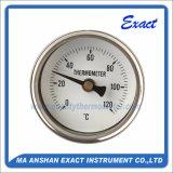Thermomètre en acier inoxydable - Thermomètre à pointeur réglable - Thermomètre à bille