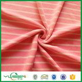 Tessuto polare del panno morbido della stampa con il lato due spazzolato con gli assegni rossi