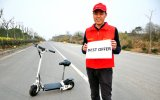 24V 300W Scooter eléctrico plegable fácil con los mejores precios