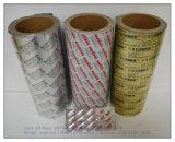 약제 포장을%s 착색된 알루미늄 호일 인쇄