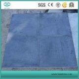 Carreau calcaire bleu côtelé pour plancher et mur
