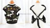 Harnais coloré de poitrine de crabot de camouflage