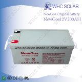 12V 200 Ah AGM recargable de plomo ácido de batería de reserva UPS