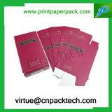 Rectángulo de empaquetado de papel modificado para requisitos particulares de la crema de lujo del Bb de la impresión en offset