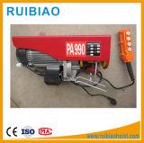 Mini élévateur électrique portatif électrique de l'élévateur 500kg PA600/Building de câble métallique de PA