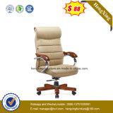 높은 뒤 프로젝트 사무실 의자 단단한 나무 다리 사무실 의자 (NS-931)