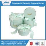 El tubo de lujo elegante caja de cartón de diseño de embalaje de regalo de flores de papel de verificación