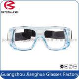 La fábrica Wholesale inastillable vidrios del deporte del baloncesto de caballos Fútbol Montar cuerpo transparente Lab gafas de seguridad