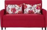 Wohnzimmer-Sofa-Bett mit waschbarer bunter Textilverpackung