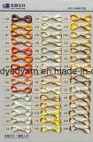 La droga del hilado FDY 70d/24f FDY del filamento del poliester teñió