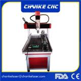 Mini ranurador del CNC de la carpintería de Ck6090 3D para el cobre de madera de Alumnium