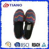 De kleurrijke Vlakke en Comfortabele Espadrilles Schoenen van Vrouwen (TN36704)