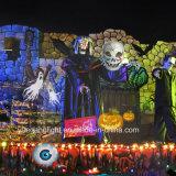 IP65 van de LEIDENE van Ce van UL Licht van de Projector van Kerstmis van Halloween 14 Dia's van de Film het Afneembare
