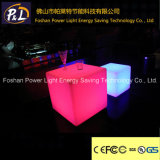 Color Changing Bar Furniture Éclairé LED Cube Seat