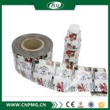 Étiquette de rétrécissement de PVC pour la bouteille avec le modèle différent