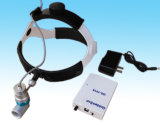 Phare rechargeable oto-rhino chirurgical de DEL avec la loupe binoculaire