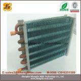 Condensatore di alluminio dell'aletta del tubo di rame per il refrigeratore raffreddato aria
