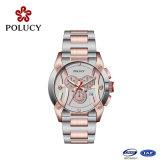 2016の新しいデザインステンレス鋼の人の腕時計