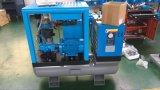 direto combinado pequeno do Portable do compressor de ar do parafuso 3kw/4HP conduzido com secador e tanque