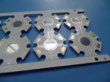 Miroir PCB en aluminium avec 1 W / Mk 1.0mm d'immersion de base de l'or